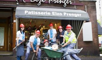 Patisserie Elzo Prenger gaat verbouwen