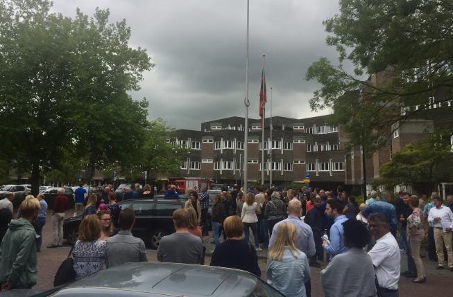 Ontruiming Raadhuis Amstelveen