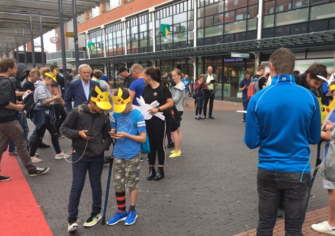 Pokémonjagers bevolken Stadshart Amstelveen