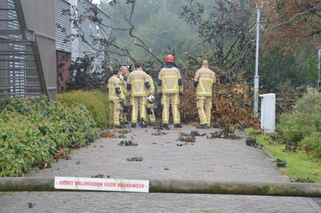 'Herfststorm' trekt over Amstelveen