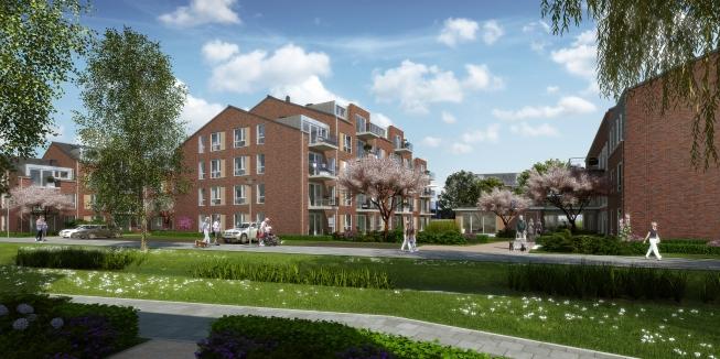 Nieuwe appartementen 'De Gijsbrecht' gericht op 75-plussers