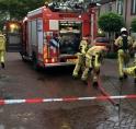 Brand in woning Middenhoven: vlam in de pan