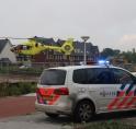 Traumahelikopter ingezet bij incident met baby