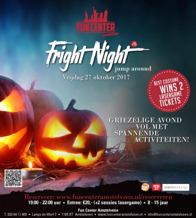 Koop je tickets voor de Amstelveense Fright Nights!