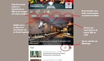 Vernieuwde mobiele versie Amstelveenz.nl