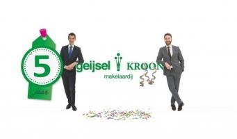 Geijsel Kroon NVM Makelaardij: 5 jaar