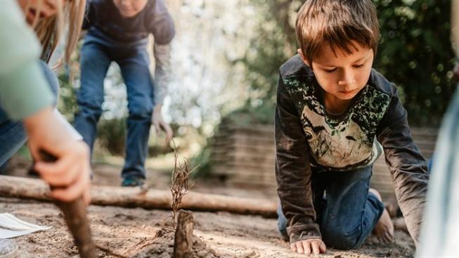 Kabouterpretpark bouwen in het Amsterdamse Bos