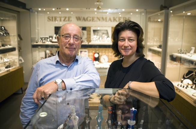 Juwelier Sietze Wagenmakers opent nieuwe winkel