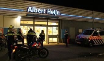 Beschonken wijndief gearresteerd bij AH in Bovenkerk