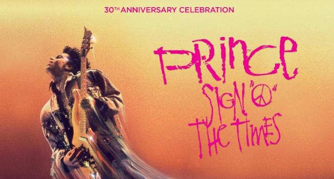 Sign o' the Times concertfilm van Prince eenmalig in cinema