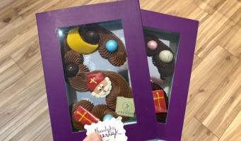 Winnen: Chocoladeletters van Patisserie Prenger