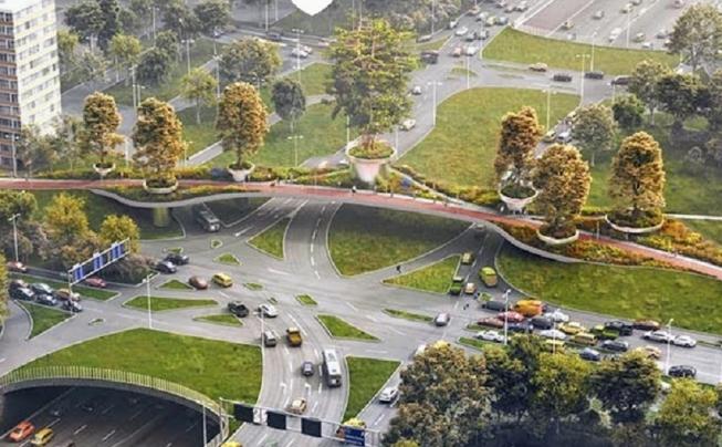 Toekomstige fietsbrug A9 Amstelveen krijgt een lift