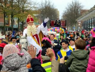 Tijdschema Sinterklaas-intocht Amstelveen 17 november