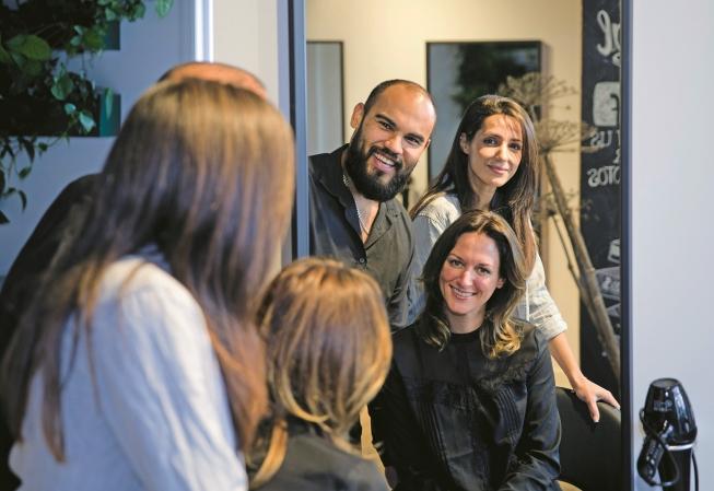 100% natuurlijke haarkleuring bij STRAK Salon