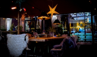 Day Foodbar heeft eigen Winter Wonderland op terras