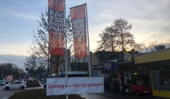 Winkels Van der Hooplaan open laatste zondagen van het jaar
