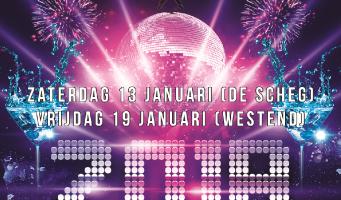 Nieuwjaars Disco voor kinderen op 19 januari in Westend