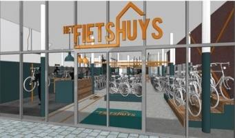 Stadshart krijgt in maart nieuwe fietsenwinkel