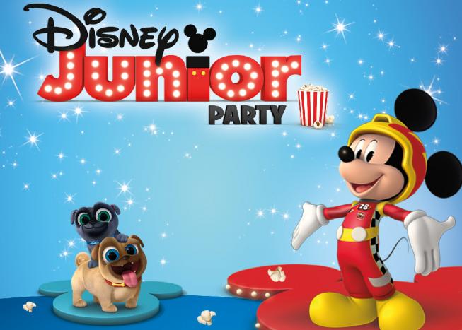 Disney Junior Party voor de allerkleinsten in Cinema Amstelveen