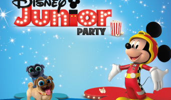 Disney Junior Party voor de allerkleinsten in Cinema Amstelveen