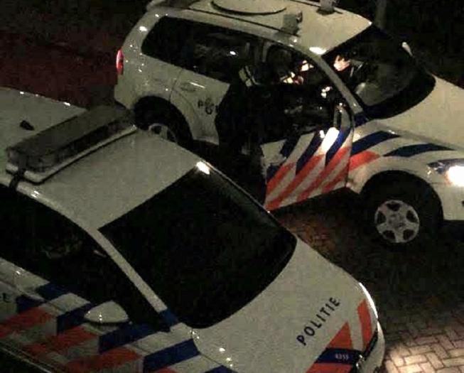 Betrapte inbreker vlucht via balkon en ontkomt
