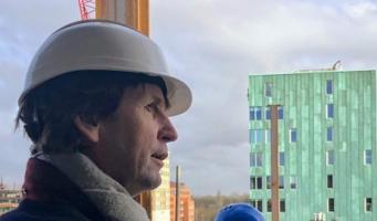 'Rondleidingen voor inwoners bij grote bouwprojecten'