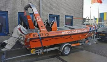 Reddingsbrigade Amstelveen gered met nieuwe stallingsplaats & boot
