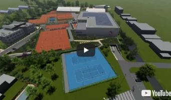 Video-impressie van nieuw Nationaal Tennis Centrum in Amstelveen