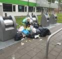 Afval sorteren op studentencampus Uilenstede gaat nog niet helemaal lekker