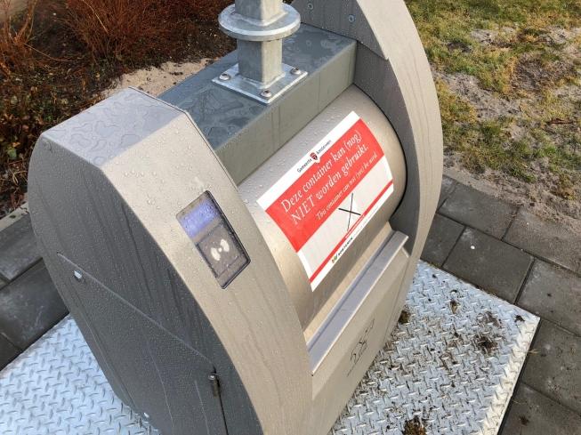 Storingen bij nieuwe ondergrondse afvalcontainers in Amstelveen
