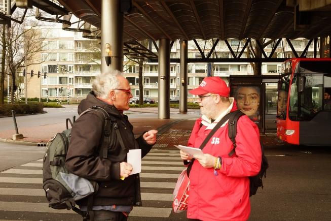 SP voert actie voor beter Openbaar Vervoer in Amstelveen