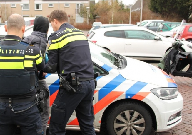 Verdachten aangehouden voor mishandeling Middenhoven
