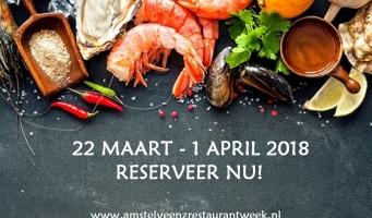 Reserveer voor de AmstelveenZ Restaurantweek!