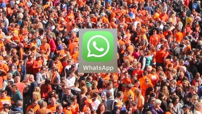 Politie Amstelveen zet WhatsApp in op Koningsdag