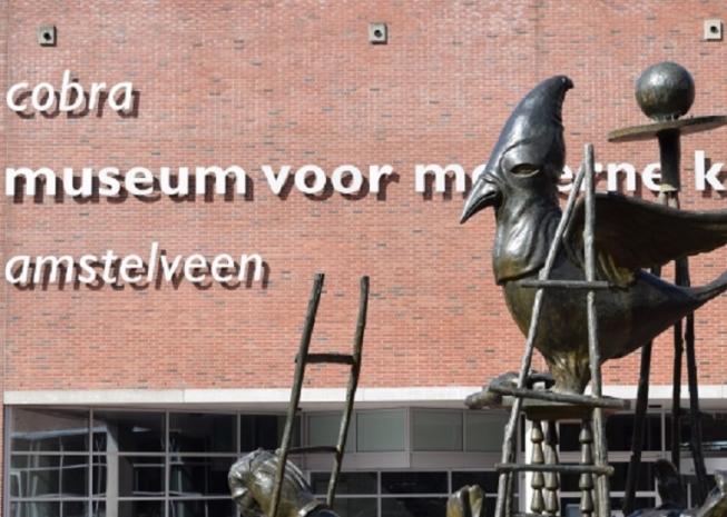 Tonnen verlies voor Cobra Museum Amstelveen
