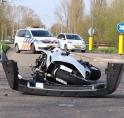 Motorrijder gewond bij ongeval in Westwijk