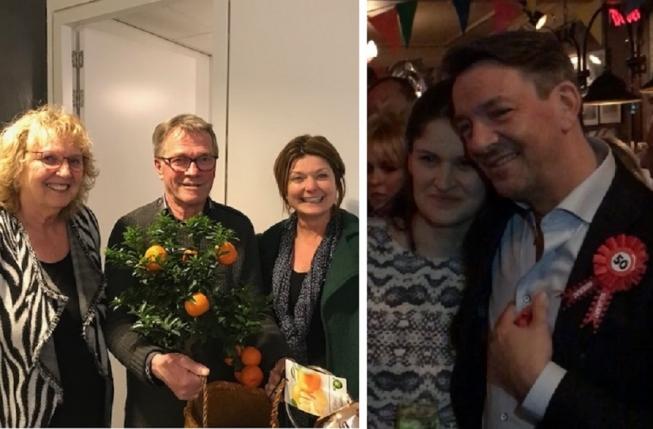 BIZ Oude Dorp: Afscheid Henk Zegwaard, felicitaties voor Marcel Kunst