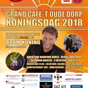 Bram Koning bij Grand Café 't Oude Dorp