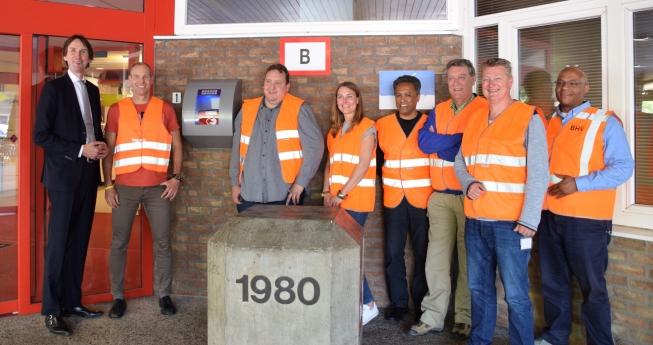 Entree Raadhuis Amstelveen uitgerust met AED