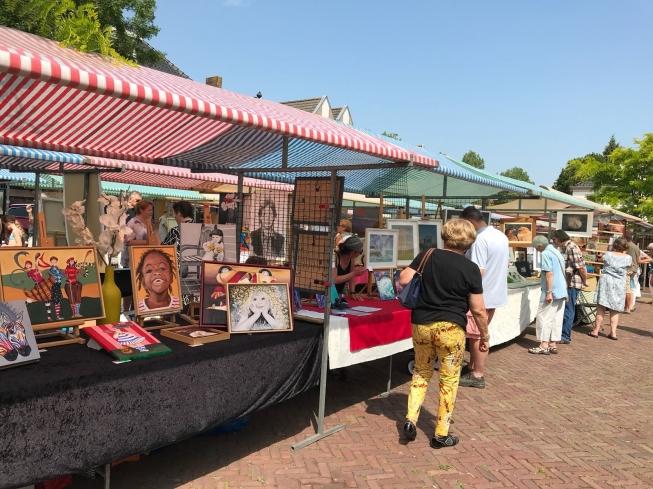 Amateurkunstmarkt in het Oude Dorp