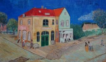 Expo toont Stationshuis Amstelveen in Van Gogh-stijl