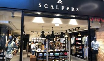 Scalpers opent herenmodezaak in Stadshart