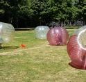 Bubbelvoetbal bij de Pioniers groot succes