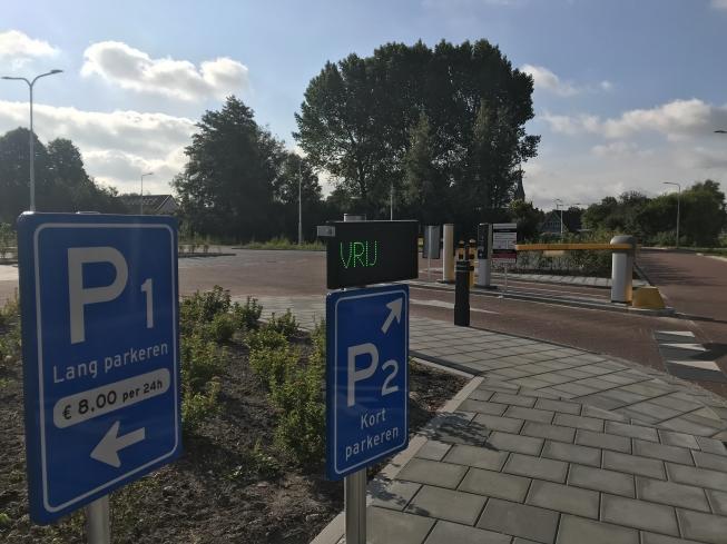 Parkeervoorzieningen horeca Amstelzijde gereed