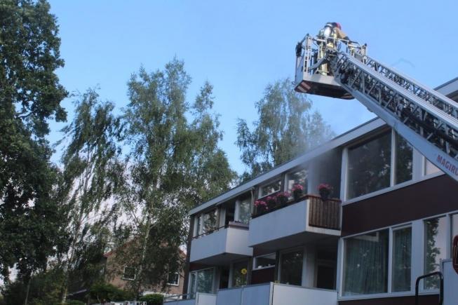 Negen katten gered tijdens brand in Parmentierlaan