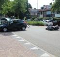 Motorrijder gewond bij ongeluk Rembrandtweg