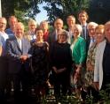 Locoburgemeester Raat ontvangt oud-collegeleden