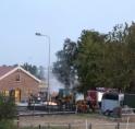 Paarden gered bij brand