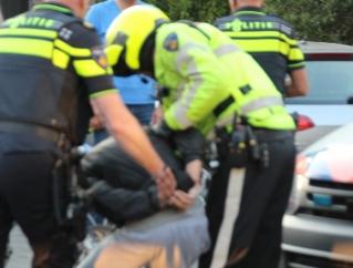 Heftige arrestatie Amstelveen; agenten bespuugd en uitgescholden