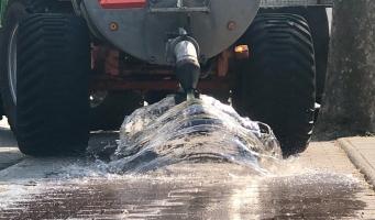 Duizenden liters water over Amstelveense fietspaden